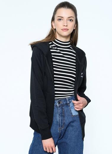 Kapüşonlu Fermuarlı Sweatshirt Adidas